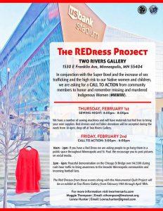 The REDress Project - Community Sewing Night @ Community Art Space | Minneapolis | Minnesota | United States