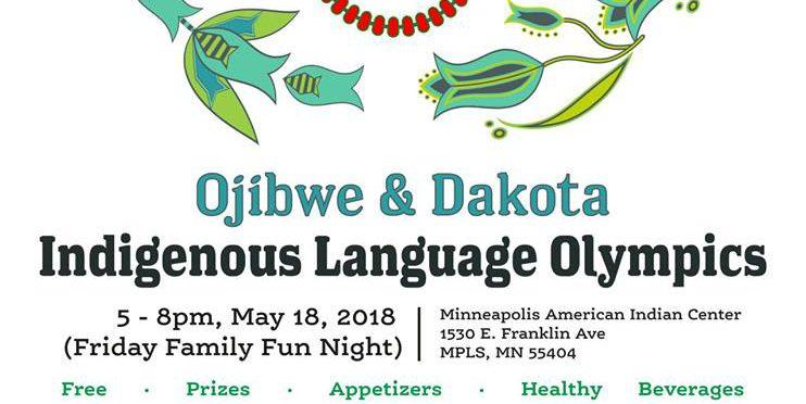 Indigenous Language Olympics – Ojibwe & Dakota